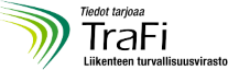 Tiedot tarjoaa TraFi liikenteen turvallisuusvirasto